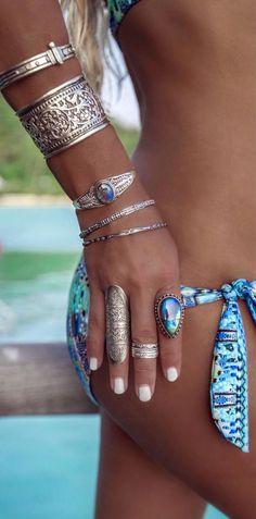 Bohemian jewelry  #weloveboho #boho #bohemian #gypsy #freespirit #fashion #jewelry