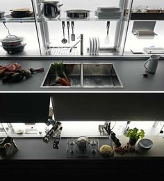 Perfect New Italian kitchen design offers fortable contemporary kitchen storage perfect for organizing everything you need