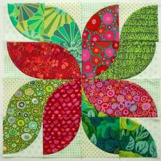 SpringLeaf Studios: Drunkard's Path Quilt Along 2015 Intro