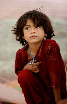 Young girl in Afghanistan