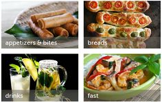 Steamy Kitchen: Jaden Hair will show you all there is to know about Fast, fresh, simple, nutritious, healthy and delicious home cooking recipes. Food Blogs, Fresh Rolls, Food And Drink, Healthy Eating, Appetizers, Cooking Recipes, Asian, Vegetables, Simple