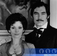 Timothy Dalton and Joanne Whalley in Scarlett