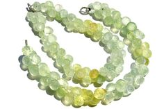 Multi Prehnite Faceted Onion Quality A / 18 by GemstoneWholesaler
