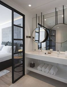 10 Tricks to Steal From Hotel Bathrooms floating vanity