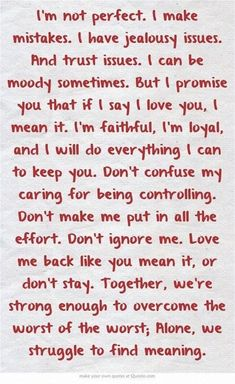 48 romantic true love messages for her and to send to him. Love Messages for your girlfriend or for your boyfriend that make them fall in love. notes 48 True Love Messages to send Love Messages For Her, Love Quotes For Him, Husband Quotes, Jealous Boyfriend Quotes, Stay With Me Quotes, Not Perfect Quotes, Romantic Messages For Him, Romantic Quotes For Boyfriend, Anniversary Quotes For Husband
