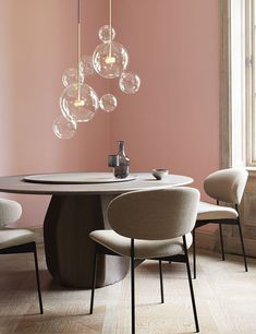 Best 40 modern minimalist dining room design ideas for comfortable dinner with your family 26 Living Room Remodel, Living Room Paint, Minimalist Dining Room, Modern Minimalist, Style Deco, Interior Paint Colors, Interior Painting, Painting Doors, Dining Room Design