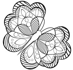FREE PRINTABLE GEOMETRIC COLORING PAGES | Coloringpages321.com