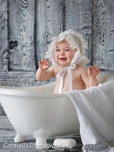 baby tub photo prop. Black Bedroom Furniture Sets. Home Design Ideas