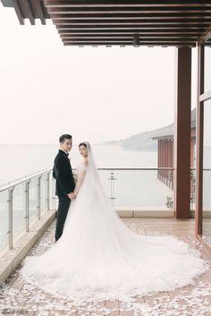 Những hình ảnh đẹp ngât ngất của đám cưới Trần Hiểu - Trần Nghiên Hy - Ảnh 29.