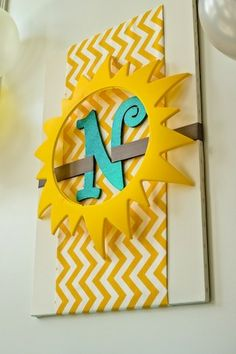 """Photo 18 of 23: You Are My Sunshine, Yellow / Birthday """"'Sunshine & Bubbles' 1st Birthday"""" 