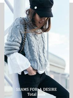 The Best Fashion Advice in This Day and Age – FunFashionistaTips Look Fashion, Winter Fashion, Fashion Outfits, Womens Fashion, Outfits With Hats, Winter Outfits, Casual Outfits, Sailor Cap, Parisienne Chic