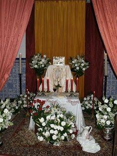 Monumento Jueves Santo-Parroquia María Auxiliadora-Granada