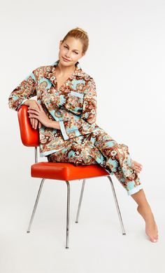 Bedhead Pajamas: Luxury Pajamas made locally from the finest cottons. BedHead Pajamas are made in the USA. Cotton Sleepwear, Cotton Pyjamas, Bedhead Pajamas, Bed Head, Pajamas Women, Pjs, Paisley, Luxury, Palm Springs