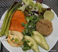 Assiette Veggie pour le Dîner (sans Gluten)