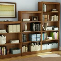 South Shore Bookcases