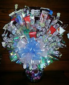 Candy Bouquet I made for the March Of Dimes Bingo.