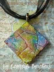 Video Master Class: Pendant with a mosaic of the eggshell