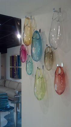 Unique, Floating Glass Blown Bubble Vase