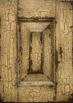 #Vintage Weathered Desert   #crackle finish