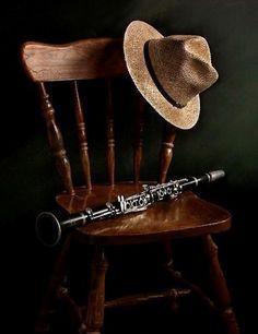 Clarinet still life