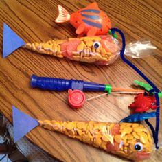 Prettify Your Life Easy Goldfish Party Favors PYL with Angela