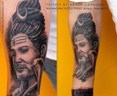 Shiva Tattoo, Detailed Tattoo, Lord Shiva, Tattoo Studio, Tattoo Artists, Cool Tattoos, Originals, Guys, Digital