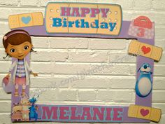 Doc Mcstuffins Frame / Photo Booth / Photo Prop Digital File by GiantFunFrames on Etsy https://www.etsy.com/listing/253629156/doc-mcstuffins-frame-photo-booth-photo