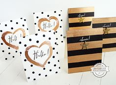 Card Making with Liquid Gold Gilding - Stamp & Scrapbook EXPO