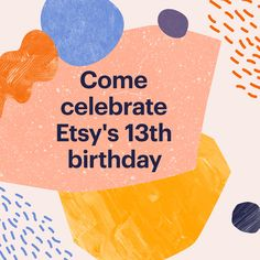 Sale time! Check my Etsy shop to see what's on sale for Etsy's Birthday Sales Event starting June 18. https://etsy.me/2t8yN3v #EtsyTurns13