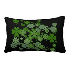 Charming Green Lumbar Throw Pillow Design from Just For Mom
