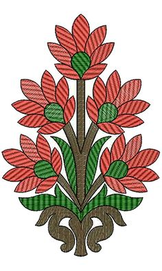 Patch Embroidery Design 13238 Peacock Embroidery Designs, Folk Embroidery, Applique Embroidery Designs, Learn Embroidery, Hand Embroidery Stitches, Embroidery Techniques, Kerala Mural Painting, Madhubani Painting, Embroidery Designs Free Download