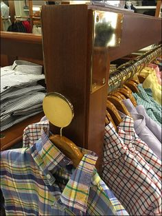 Another example of heavy lumber in Rack construction, this with a Disk Finial approach to Rack End presentation. No chance that merchandise wil be knocked from its perch here, unless knocked off th… Staging, Presentation, Construction, Brass, Role Play, Building, Rice