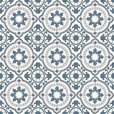 Moroccan Cement tiles are durable, easy to clean and naturally insulating. Cement tiles gives that beautiful ethnic edge on your home Wall And Floor Tiles, Wall Tiles, Cement Tiles, Wallpaper Roll, Pattern Wallpaper, Tile Patterns, Print Patterns, Toilet Tiles, Traditional Tile
