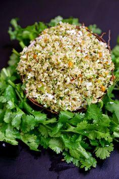 Coriander, Coconut Masala Quinoa - Oh No, Not Your Traditional Coconut Rice #quinoa #food #protein #vegan