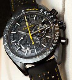 Omega Speedmaster Dark Side Of The Moon Apollo 8 Watch