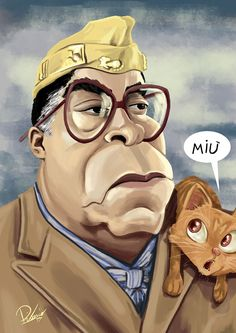 James Earl Jones as King Joffy Joffer - caricature by Ribosio