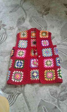 Fabulous Crochet a Little Black Crochet Dress Ideas. Georgeous Crochet a Little Black Crochet Dress Ideas. Crochet Waistcoat, Crochet Baby Jacket, Crochet Coat, Crochet Cardigan, Crochet Shawl, Crochet Yarn, Crochet Squares, Crochet Motif, Crochet Patterns