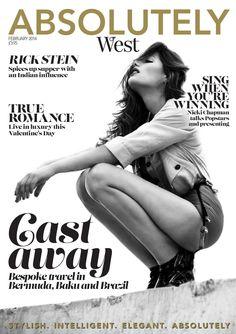 Absolutely Magazine WEST FEBRUARY  2014  Zest Media London publish