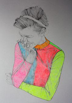Niki Pilkington #fashion #illustration
