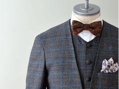 新郎衣装,ノーカラースーツスタイル,カジュアルウェディング  #新郎衣装