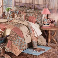 cowgirl theme bedding and room decor