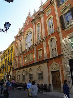 Alessandria Synagogue exterior