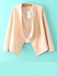 Ladies blazers slim solid flouncing design tops BD-X6534