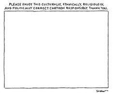 The New Yorker cartoon following the #CharlieHebdo incident.