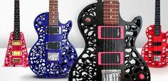 Olaf Diegel's 3D printed guitars