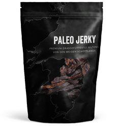 Kickstart 2015: Paleo Jerky | Sports Insider Magazin Food Packaging Design, Pretty Packaging, Packaging Design Inspiration, Brand Packaging, Food Design, Food To Go, Food And Drink, Paleo Jerky, Beef Jerkey