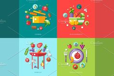 Food Infographic Illustrations - Illustrations