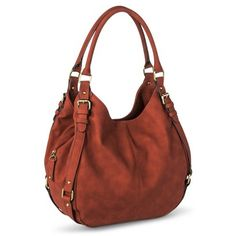Merona® Timeless Collection Large Hobo Handbag -- love the one i have, but would love it in cinnamon