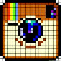 9 Best Minecraft Logo Pixel Art Templates Images Pixel Art