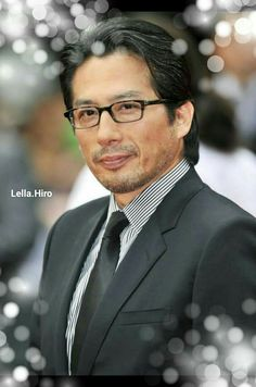 Nice to see older Asian stars, how handsome he is.